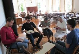Curso de Oração para Postulantes Noviços - 05 à 09 de maio de 2014.
